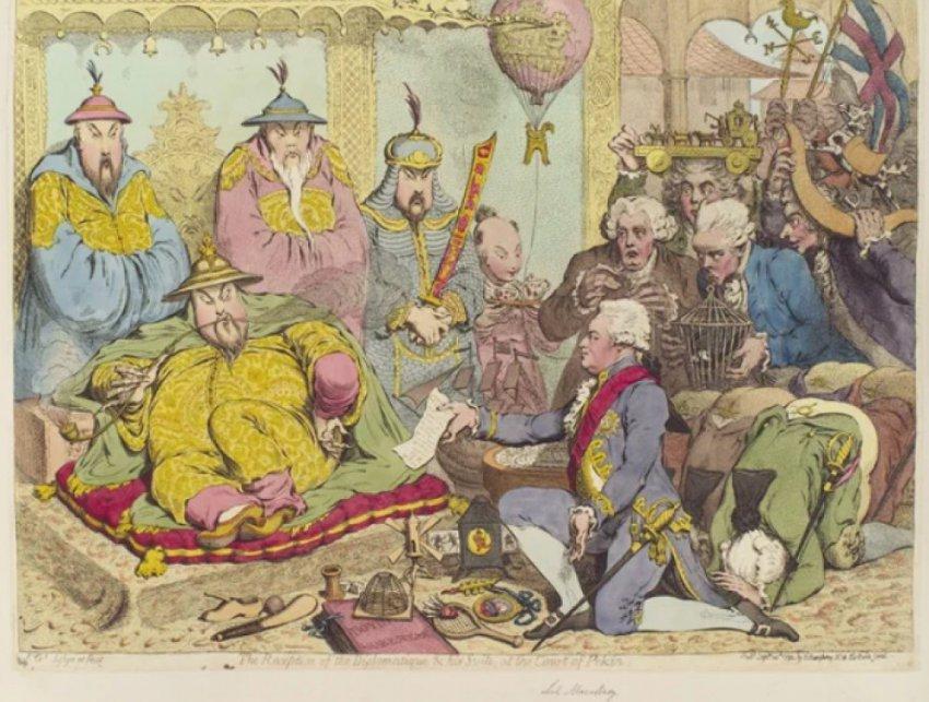История первой опиумной войны Китая против Англии