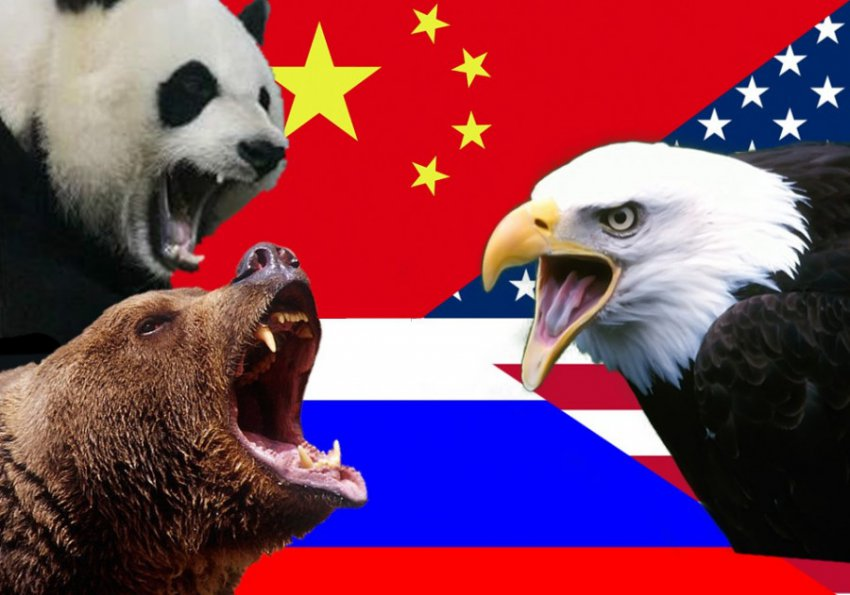Чтобы помирить Россию и США, им предложено объединиться против Китая