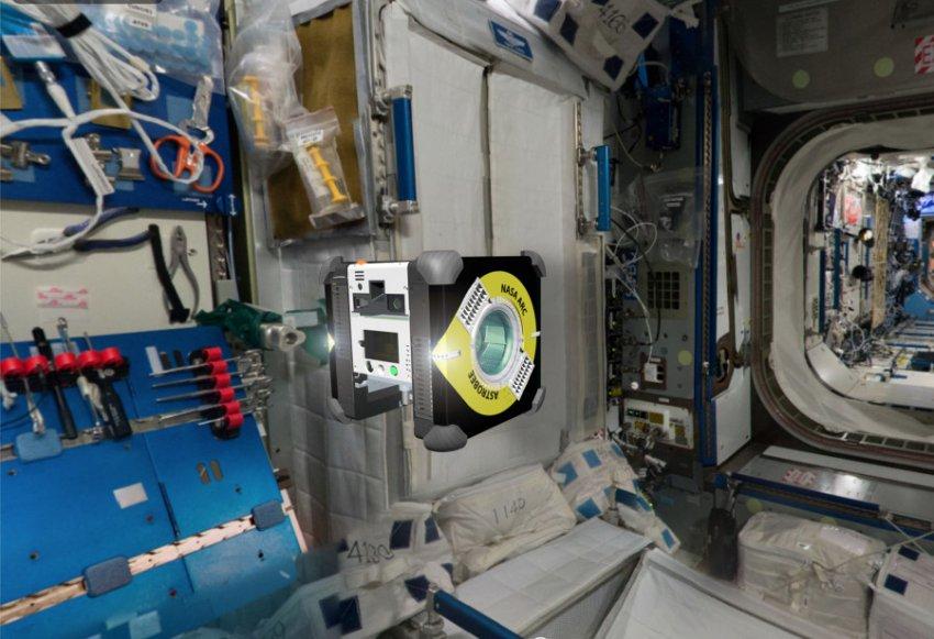 На МКС начали тестировать робопчел