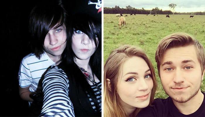 10 фото бунтующих подростков До и После
