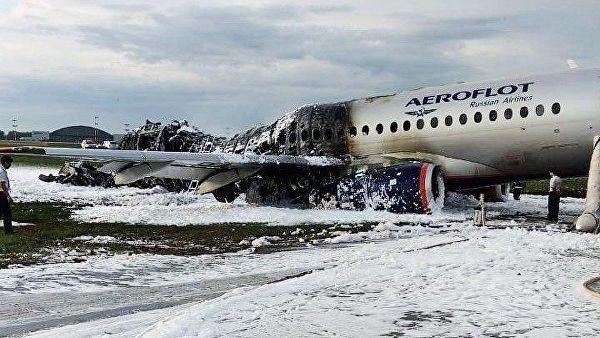 Опубликовали предварительные данные о расследовании авиакатастрофы в Шереметьево