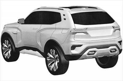 Появились патентные фото нового внедорожника Lada 4x4 от «АвтоВАЗа»