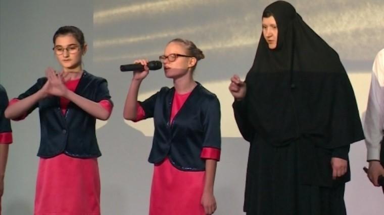 Слепоглухие дети из специнтерната спели ораторию со звёздами Мариинки