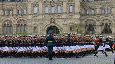 Как прошла репетиция парада Победы в Москве 7 мая