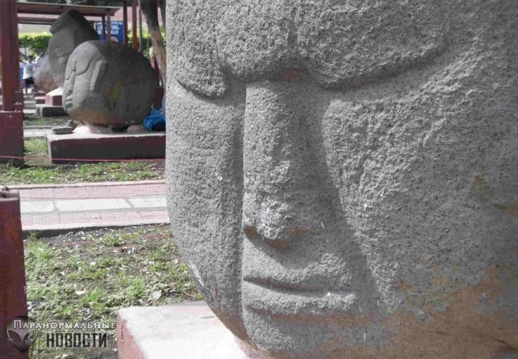 Загадочные каменные головы Гватемалы имеют магнитные аномалии