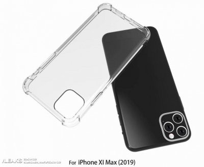 Опубликованы первые фото iPhone XI и iPhone XI Max