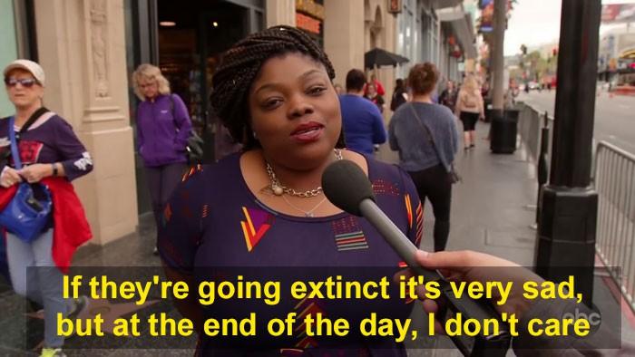 Людей на улицах спросили, надо ли спасать хомо сапиенсов, и уровень глупости в ответах зашкаливает