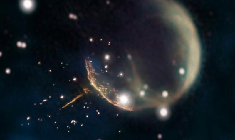 Феноменальная звезда «Зуми»: скорость небесного тела достигает 1130 км/с