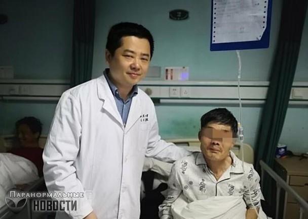 Китайца стошнило опухолью и он... проглотил ее обратно