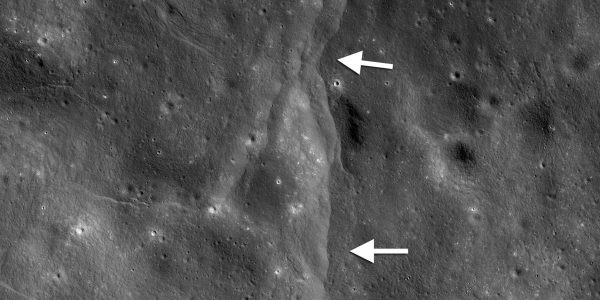 Лунная сейсмическая активность: на спутнике Земли заметили разломы, сформированные после землетрясений