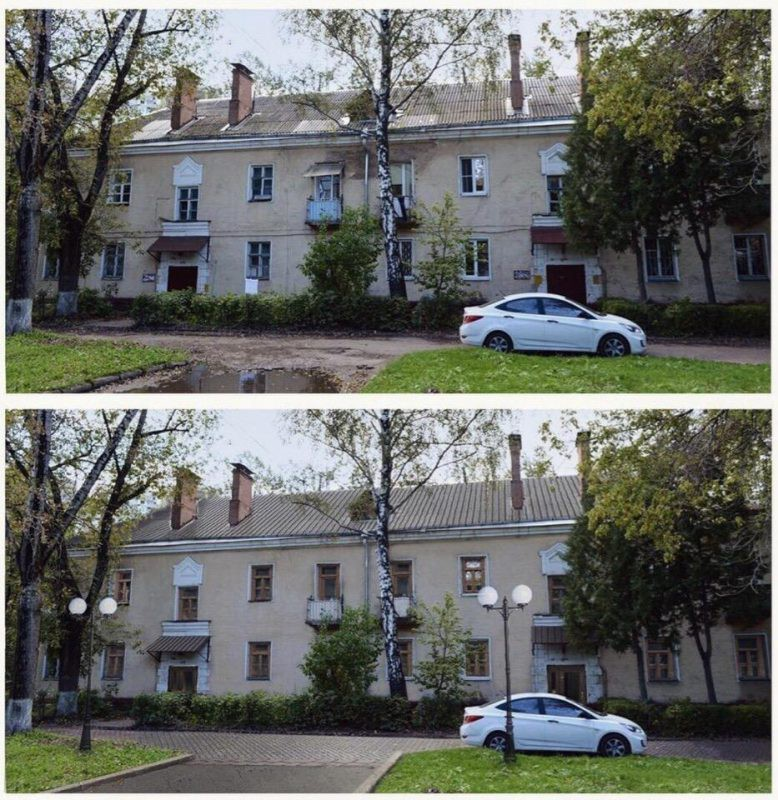 Российский архитектор показал красоту городов и сёл после обычного ремонта