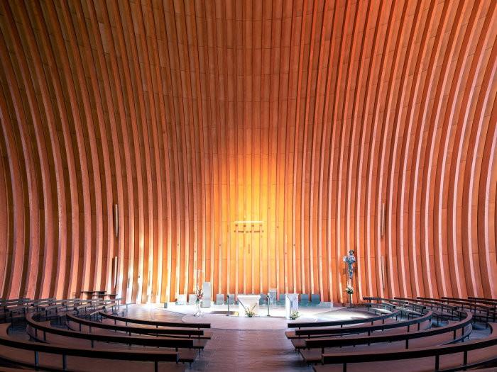 Модернистские церкви и храмы современности - великолепные архитектурные творения