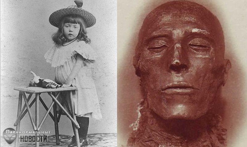 Египетская реинкарнация ирландской девочки Дороти Иди