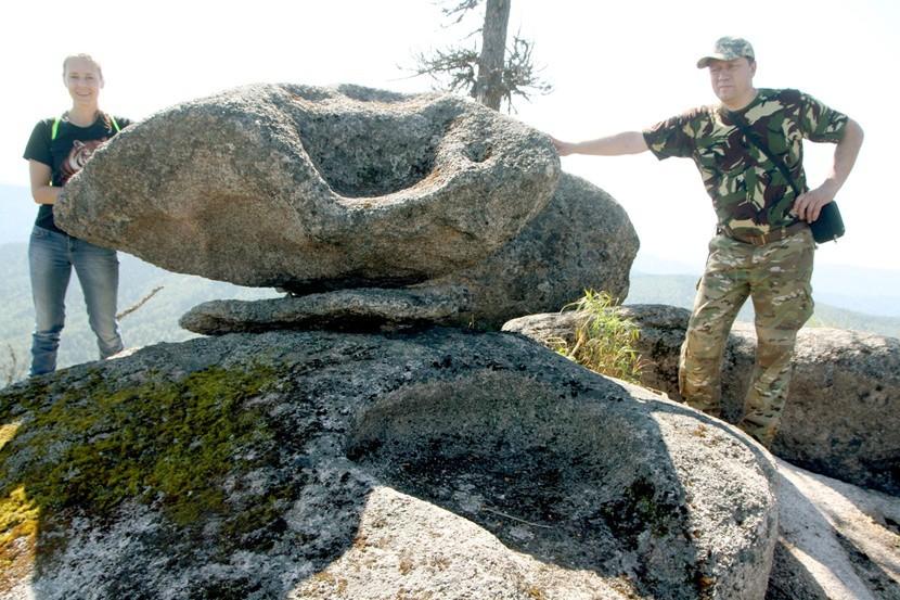 Загадочные тайны мегалитов на горе Куйлюм