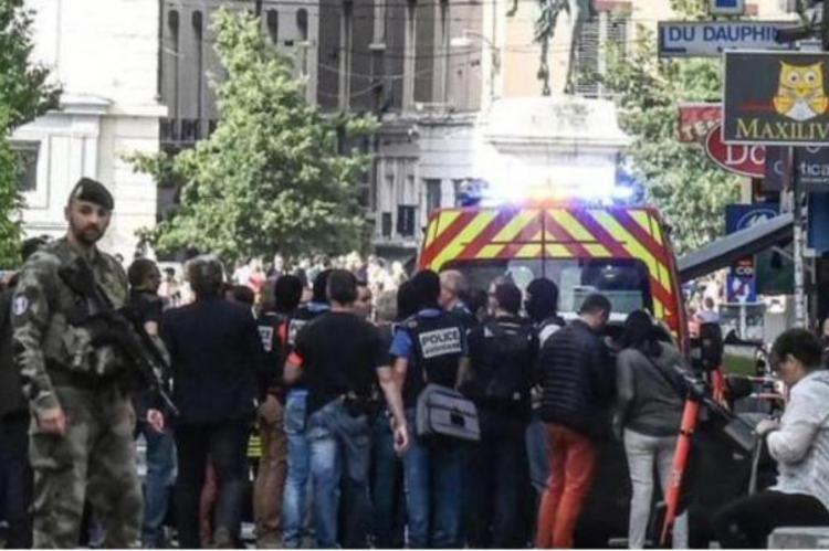 Взрыв в Лионе устроил велосипедист