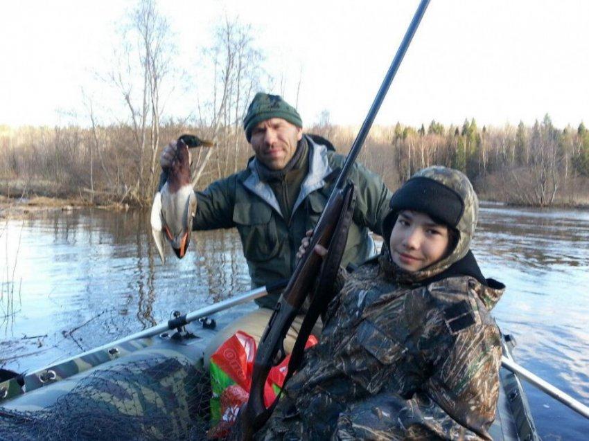 Николай Валуев выходит на охоту