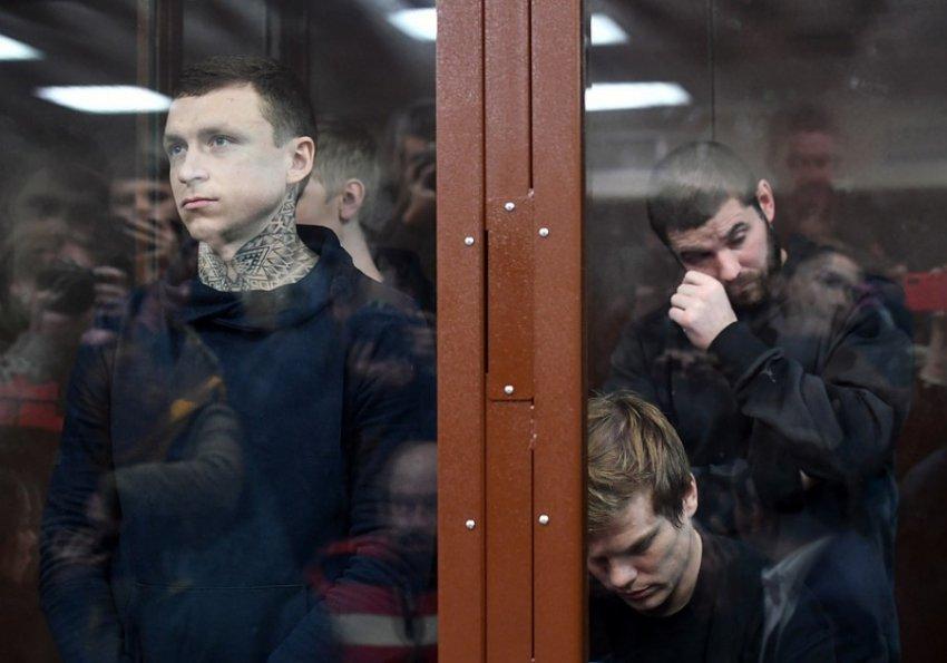Кокорин и Мамаев получили реальные сроки наказания в колонии общего режима