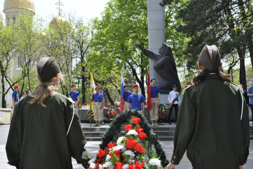 В Кисловодске прошла Героическая поверка