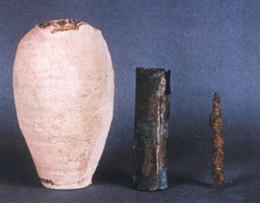 Удивительная находка: батарейка возрастом 2000 лет