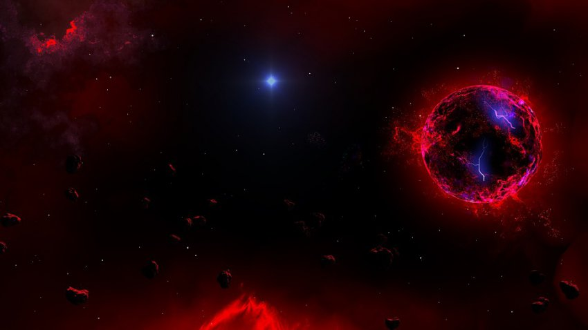 В космосе обнаружен объект, который движется быстрее света