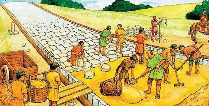 Дорожные сети античности: секреты каменной кладки