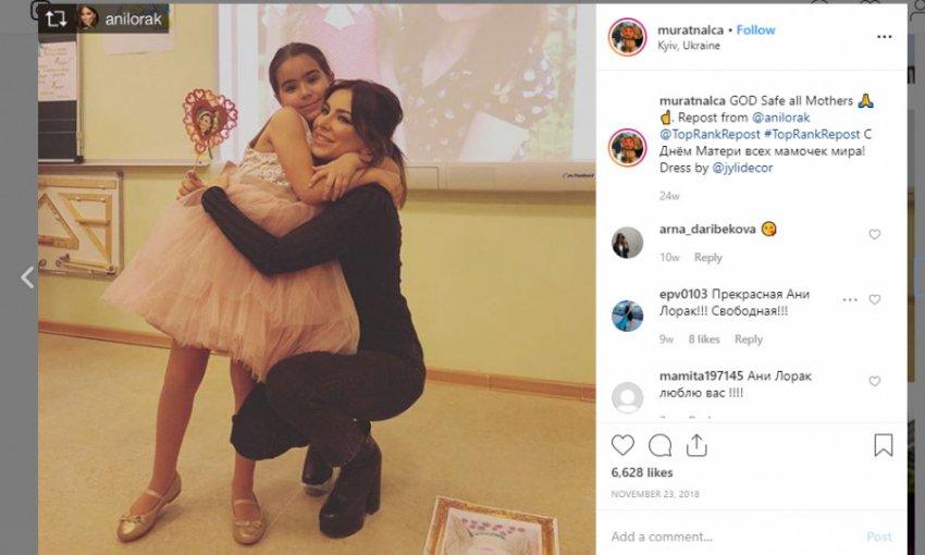 Несмотря на развод, Ани Лорак и Мурат Налчаджиоглу вместе воспитывают дочь