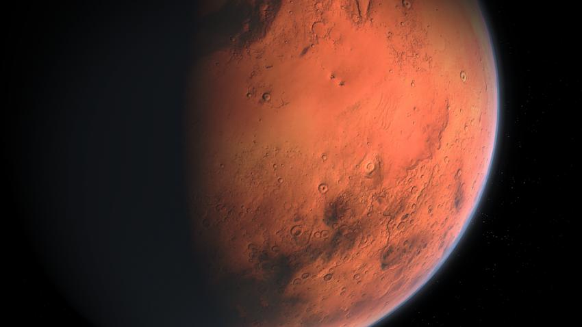 В атмосфере Марса есть огромная дыра: она выпускает оставшуюся воду в космос