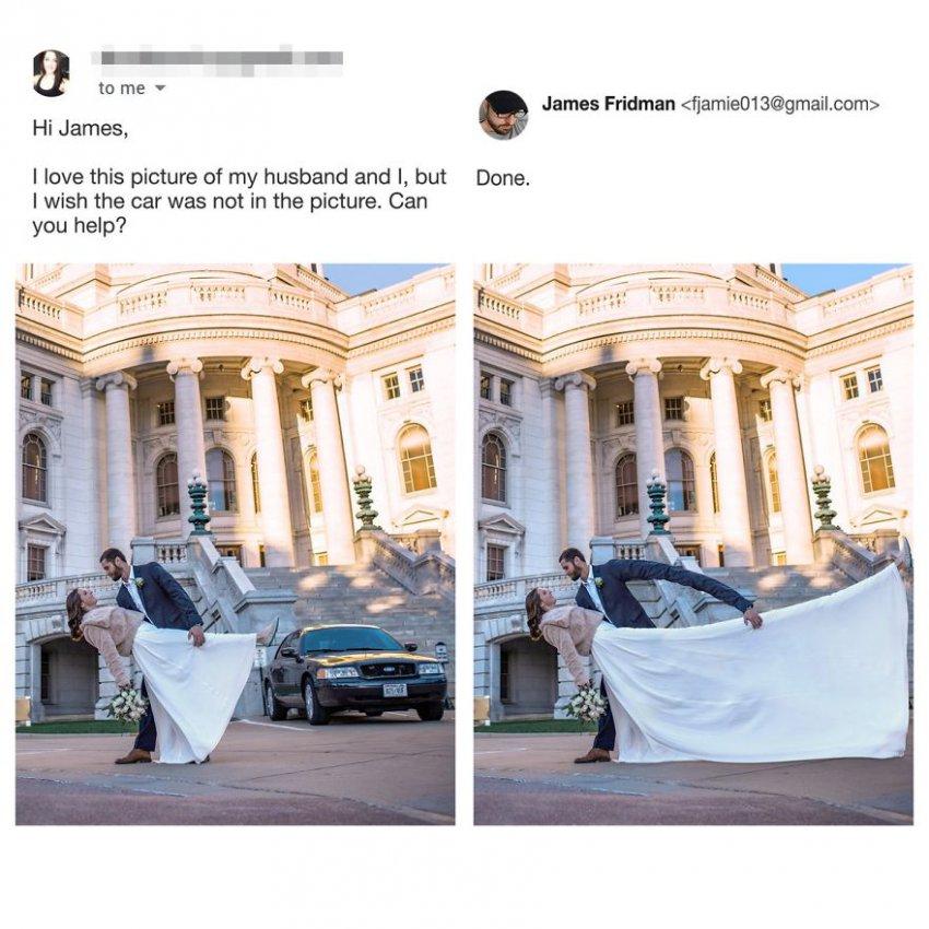 10 фотографий от мастер фотошопа, который троллит заказчиков, но никто не в обиде