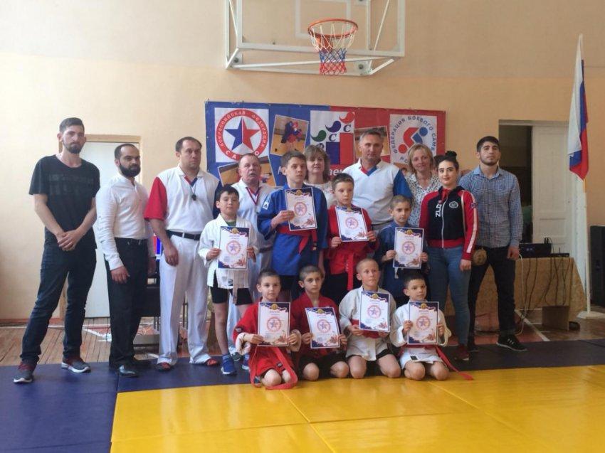 В Кисловодске прошли соревнования по самбо для детей с ограниченными способностями
