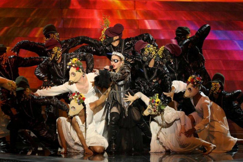 Певица Мадонна рассмешила фанатов «Игры престолов» на «Евровидении»