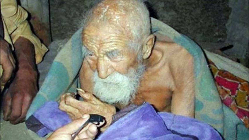 184-летний житель Индии считает себя бессмертным