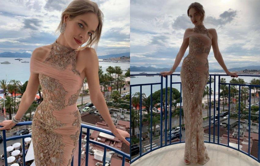 37-летняя Наталья Водянова ослепила всех своей красотой в Каннах