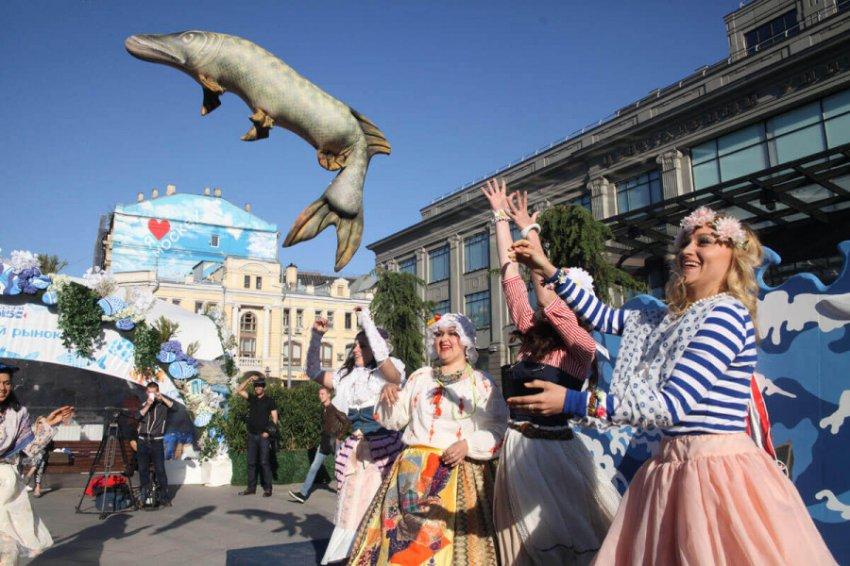 Фестиваль «Рыбная неделя» открылся в Москве