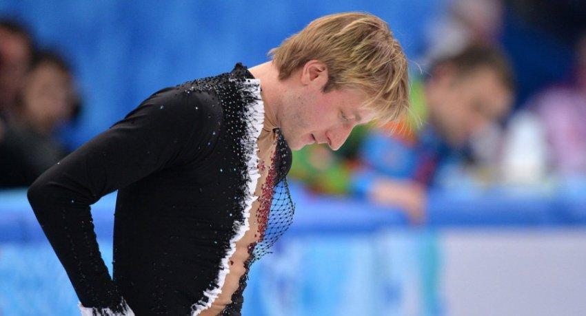 Выступление Евгения Плющенко было прервано из-за сильного землетрясения