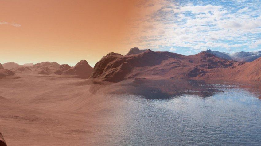На Марсе найдены новые большие залежи льда
