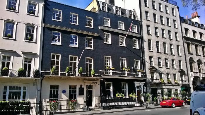 Пугающие истории о доме №50 на площади Беркли в Лондоне