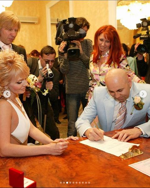 Валерия и Пригожин отмечают хрустальную свадьбу