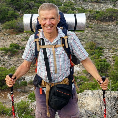 Как обойти весь мир пешком: профессиональный путешественник провел лекцию на Фестивале путешествий