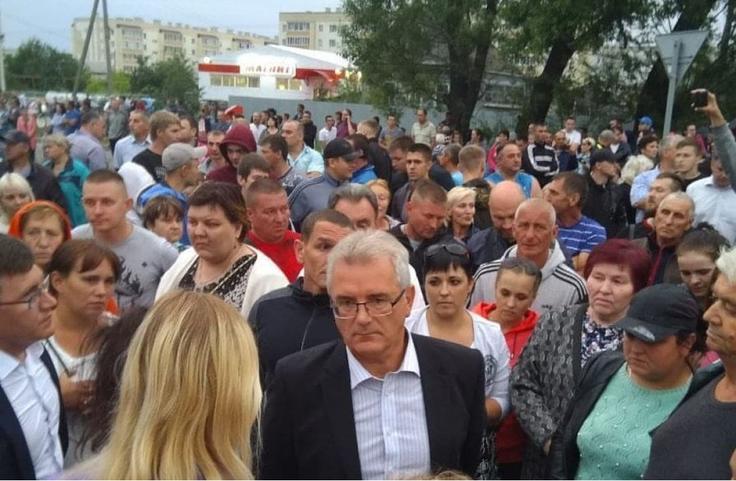 Беспорядки в Чемодановке