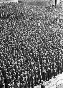Марш немецких военнопленных в Москве 1944 года