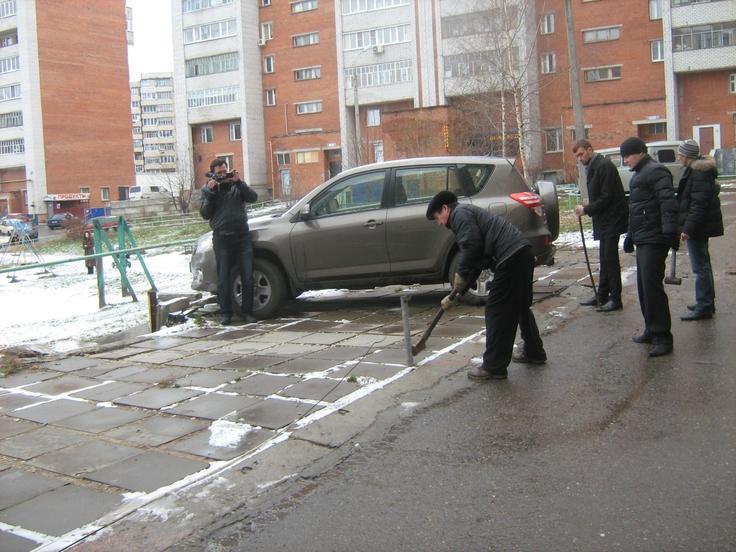 Войны за парковку