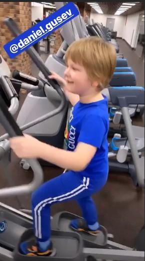 Шестилетний сын Евгении Феофилактовой начал худеть