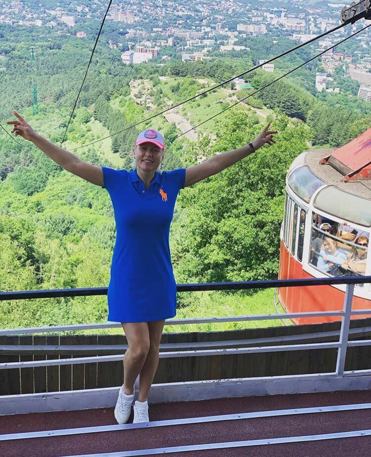 Российский боксер Наталья Рогозина посетила Олимпийскую базу в Кисловодске