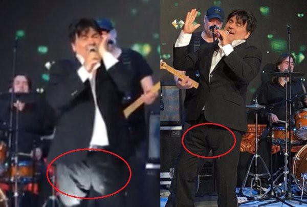 Поклонники подозревают, что певец Александр Серов носит подгузники