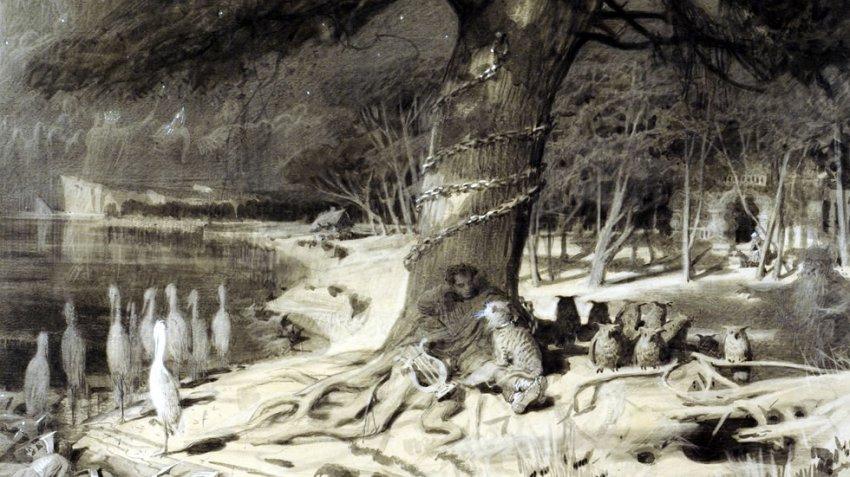 Обитатели фольклорного сонного царства у славян