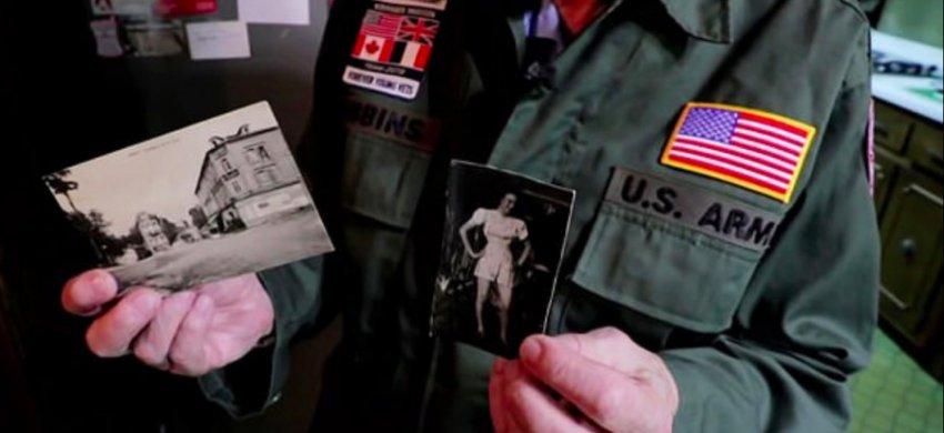 Ветеран Второй мировой встретил свою возлюбленную спустя 75 лет
