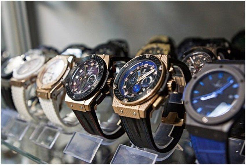 Швейцарские часы - подделка с российским механизмом за 30$