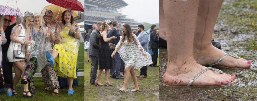 Нелепые снимки гостей королевских скачек Royal Ascot