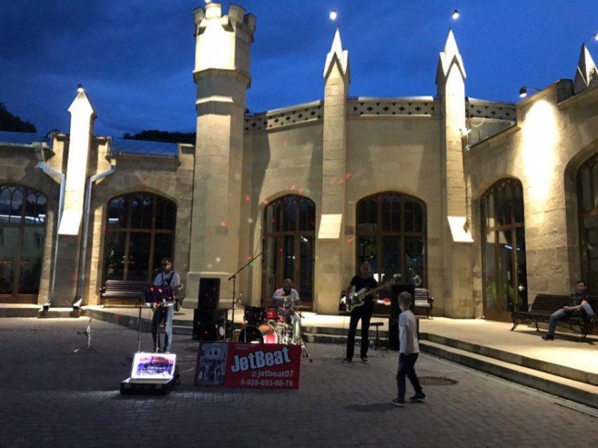 В Кисловодске стартовал проект «Музыка в парке»