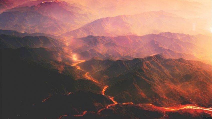 Просыпаются вулканы Тихоокеанского огненного кольца